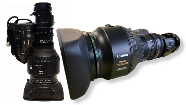 Canon VAP lens Motomediateam tv4Cycling